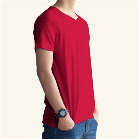 Polo Shirt Merah Cabe 1 kaos polos merah cabe unfinished konveksi grosir