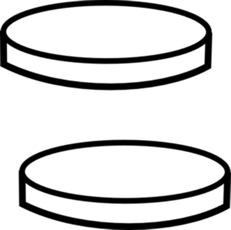 Coin Outline Clip by Coins Clip Black And White Clipart Panda Free Clipart Images
