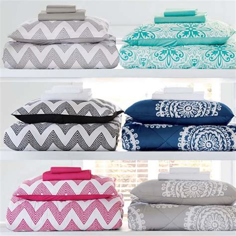 Zig Zag Bedding Set Zig Zag Stripe Value Comforter Set Pbteen