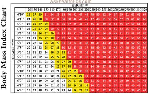 Bmi Index Table by Army Caculator Tubezzz Photos