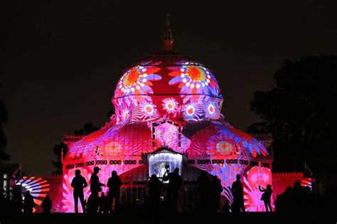 summer of love light show light show to wash park conservatory in psychedelia san