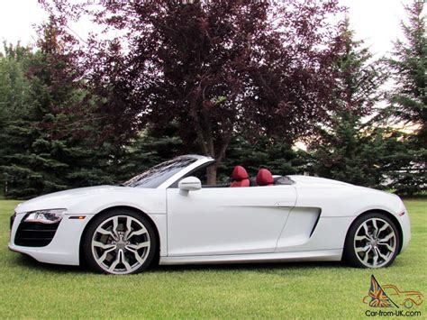Audi R8 Cabrio by Audi R8 Spyder Convertible 2 Door