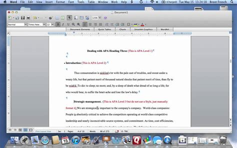 apa format youtube mac apa level 3 and word for mac mov youtube