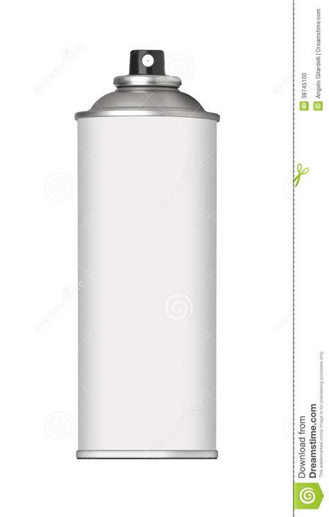 Sprei White spray can stock photo image 38745100