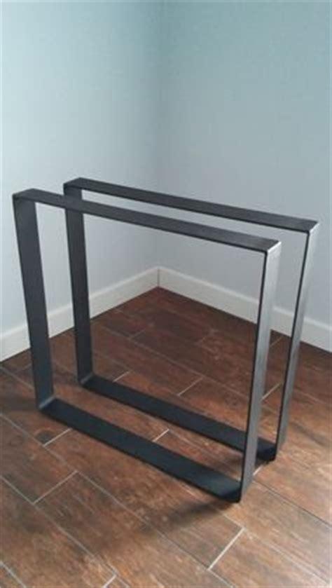 aluminum trestle table base custom fabricated by black s