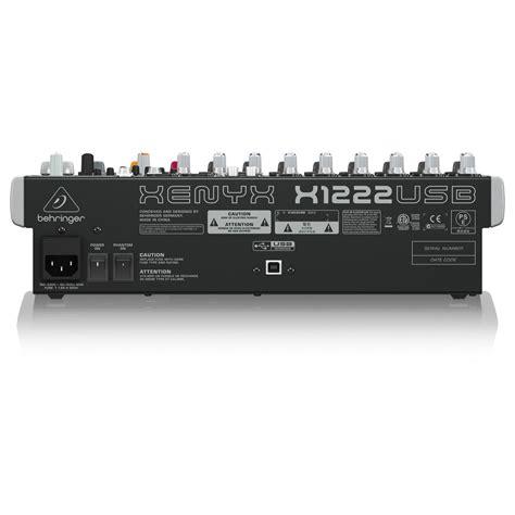 Mixer Behringer Xenyx X1222usb behringer xenyx x1222usb mixer at gear4music
