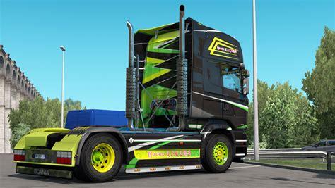 ndoro kakung scania streamline ndoro kakung skin mod ets2 euro truck