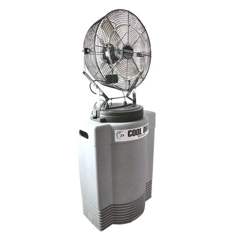 misting fan home depot ventamatic mid pressure 18 in misting fan with tank