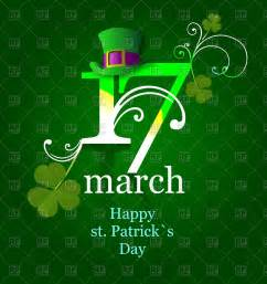17 march st s day poster vector clipart image 55512 rfclipart