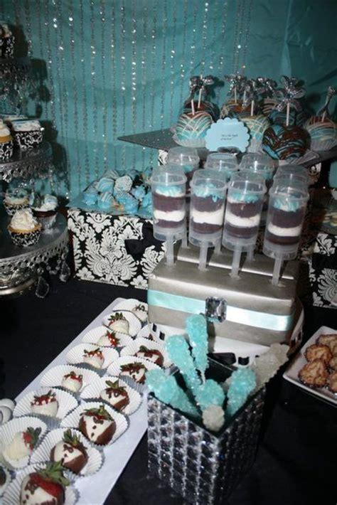 damask  tiffany blue bridalwedding shower party ideas