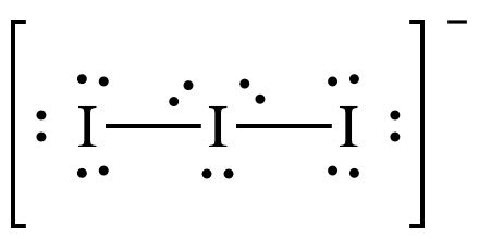 lewis structure - Formal charges on polyatomic ions ... I3 Lewis Dot Structure
