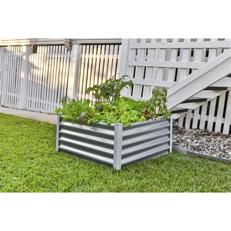 Raised Vegetable Garden Beds Bunnings Colorbond Raised Garden Beds Bunnings Garden Ftempo