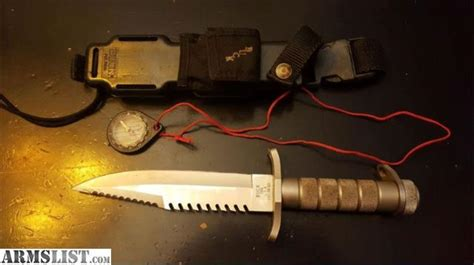buckmaster knife for sale armslist for sale buckmaster 184 survival knife