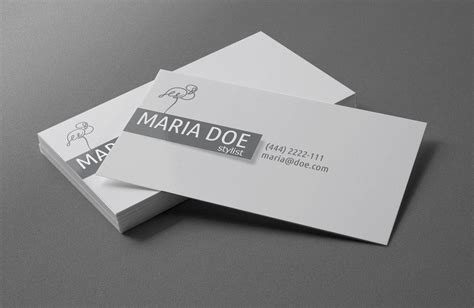 personal stylist business cards free template by