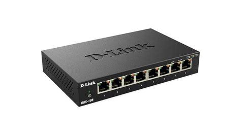 Switch 8 Port Gigabit Dlink Dgs 108 8 port gigabit ethernet unmanaged metal desktop switch