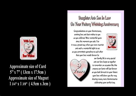 gifts for on in 1st to 30th wedding anniversary card