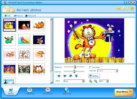 flash card maker blue ipixsoft flash screensaver maker screenshot page
