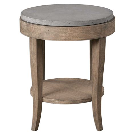 uttermost accent table uttermost deka round accent table