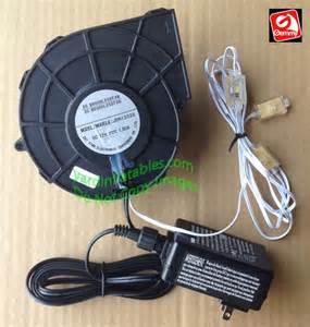 Gemmy replacement 1 5a fan with 12v 1 5a adapter