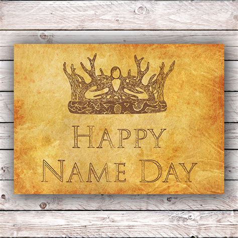 Of Thrones Birthday Card Template by Happy Name Day Happy Birthday Of Thrones Printable