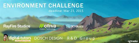environment challenges cg environment challenge cgtrader