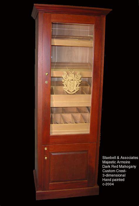 how to build a cigar humidor cabinet aristocrat cabinet humidors walnut