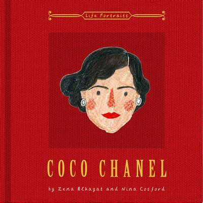 coco chanel biography reviews coco chanel by nina cosford zena alkayat waterstones