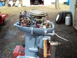35 hp evinrude outboard motor youtube