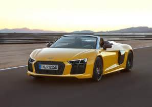 Audi Convertibles The New Audi R8 V10 Convertible Takes It