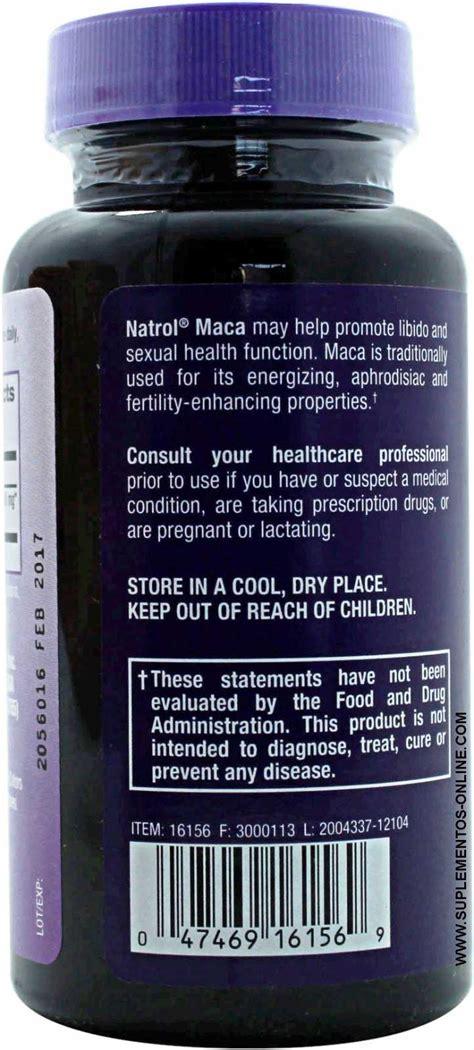Natrol Maca 60 fotografias de natrol maca extract 500mg na zumbu