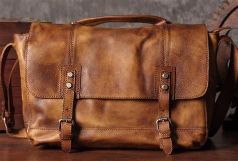Jual Tas Laptop Deuter handmade leather briefcase messenger vintage shoulder laptop bag v everhandmade