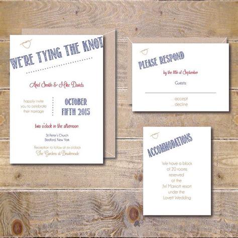 print at home wedding invitations printable wedding invitation diy wedding invitation