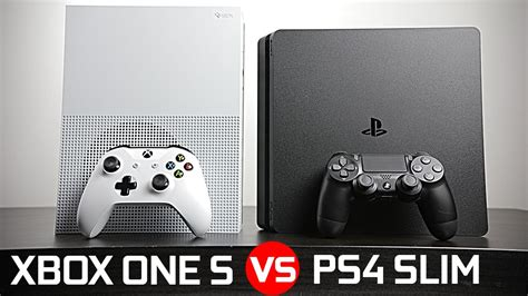 ps4 console vs xbox one playstation 4 slim vs xbox one s battle of the compact