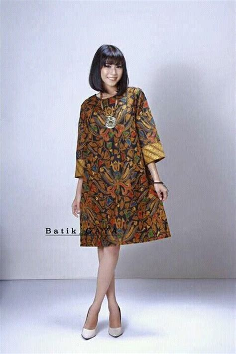 Fashion Baju Dress Wanita 63 model batik terbaru design bild