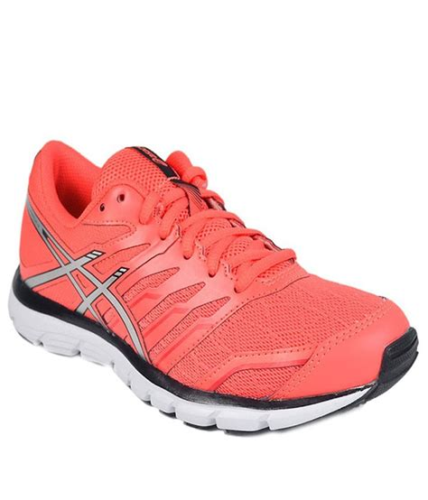 sport shoes asics asics orange sports shoes price in india buy asics orange