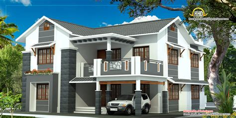 2 floor house february 2012 kerala home design and floor plans