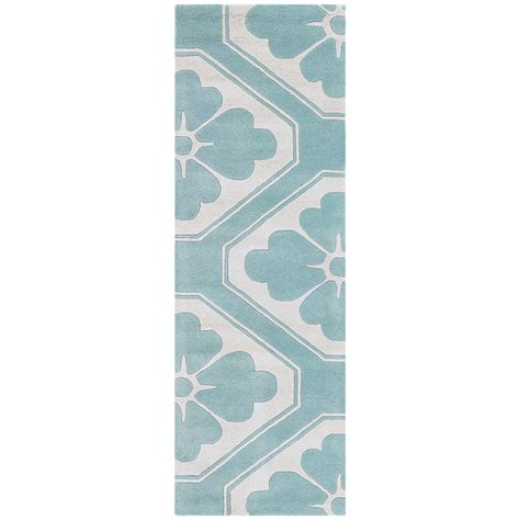 aqua runner rug modern rugs chandra obi aqua runner collectic home