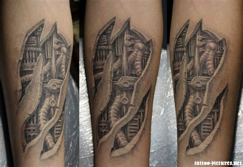 biomechanical tattoo elbow com img src http www tattoostime com images 354 grey ink