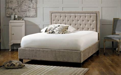 limelight rhea fabric bed frame mattress