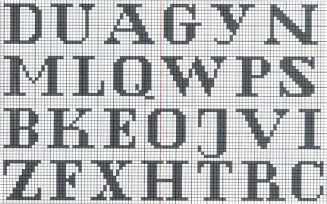 abecedario en punto de cruz para imprimir patrones en punto de cruz gratis para imprimir tattoo page