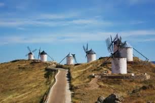 La Mancha Los Molinos De Viento Consuegra Castilla La Mancha The