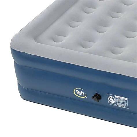 serta air mattress with headboard serta 18 quot raised queen headboard perfect sleeper air