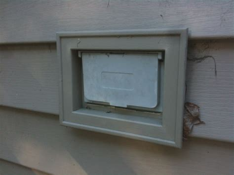 vinyl siding light mount how do i install an outdoor receptacle box on vinyl siding