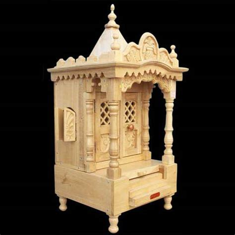 wooden home temple manufacturer in jodhpur rajasthan india