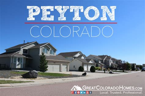 peyton co real estate local homes for sale