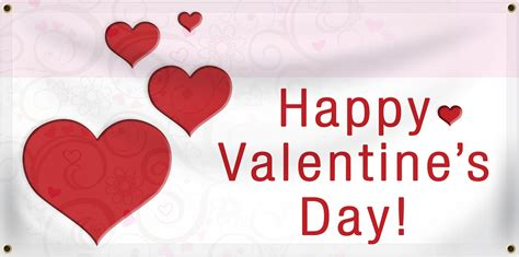 valentines sign banners january 2016