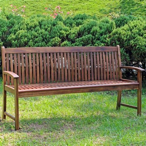 3 seater garden bench 3 seater garden bench in stain vf 4409