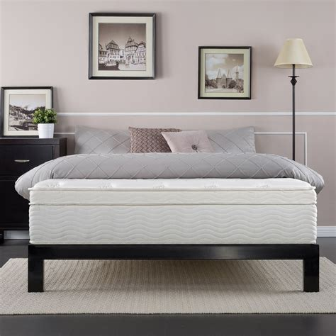 best bed reviews night therapy spring deluxe euro box top spring mattress