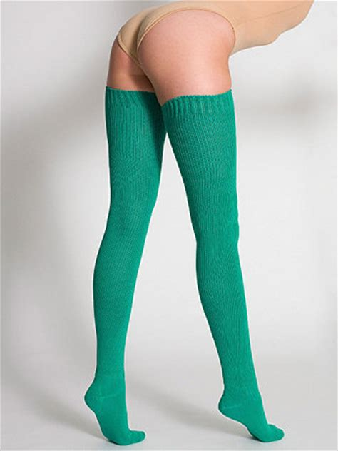diy thigh high socks from cotton solid thigh high socks on the hunt