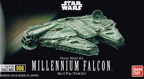 Vehicle Model 006 Millenium Falcon wars vehicle model series 006 millennium falcon bandai gundam models kits premium